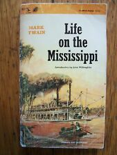 Life on the Mississippi by Mark Twain (1965 , Paperback)