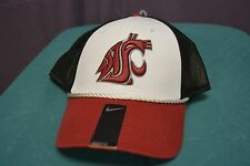 Nike Mens NCAA Swoosh Flex Legacy '91 Washington State Cougars Hat Cap New