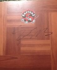 Kennedy Meeks Signed Autographed Floorboard Toronto Raptors North Carolina