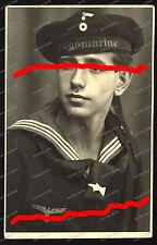 Studio-Portrait-Matrose-Günther Hosumbek-U 980-U-Bootbegleitschiff-ERWIN WASSNER