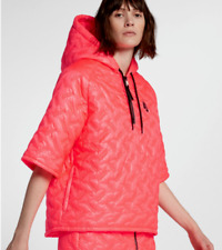 NIKE LAB Essentials INSULATED Short Sleeve Coat Hoodie Women's Size S