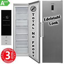 Gefrierschrank NoFrost A++ 280 Liter Stand Eisschrank Froster Display Edelstahl