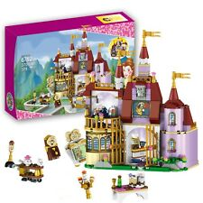 Beauty And The Beast Castle Blocks Princess Bell Enchanted Toy For Girls Play