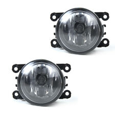 2 Driver Passenger Sides Fog Light Lamps w/ H11 Bulbs 55W#4F9Z15200AA For Ford