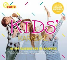KARAOKE/KIDS KARAOKE (JOHN LEGEND, CALVIN HARRIS, AVICII,...) 3 CD NEU