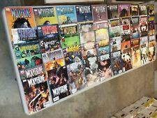 Wolverine 1-60 Straight Run Lot Marvel Comics 2003 Series