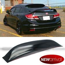 Fit 12 15 Honda Civic 4dr Sedan Acrylic Rear Window Roof Vent Visor Spoiler Wing Fits 2013 Honda Civic Si