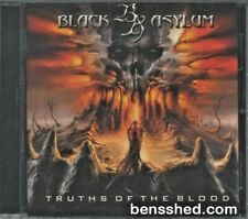 "BLACK ASYLUM ""TRUTHS OF THE BLOOD"" 2008 OZ THRASH METAL CD LIKE NEW"