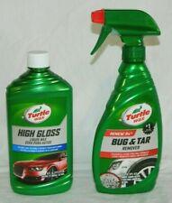 Turtle Wax High Gloss Liquid Wax and Bug and Tar Remover Gift Set Custom