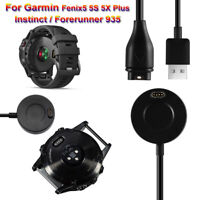 Cradle Charging Cable Watch Charger Dock For Garmin Fenix 5 5s 5x Plus Instinct