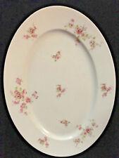 "Victoria Austria Floral 16"" Oval Serving Platter"