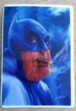 Batman smoking vinyl sticker laptop tablet phone helmet JDM