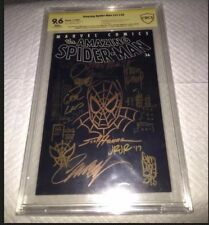 Amazing Spider-Man #36 CBCS 9.6 SS JOHN ROMITA & SKETCH ~World Trade Center 9/11