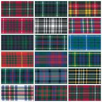Berisfords Tartan Ribbon 7mm,10mm,16mm 17 Patterns 3 Widths & Lengths, Free Post