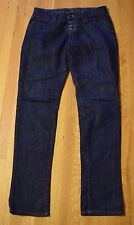 Joe's Jeans Chelsea Skinny Fit Jett Dark Wash Denim Women's 29 Button Fly