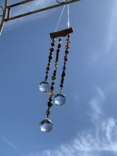 Crystal Sun Catchers Garden Patio Home Window Decor Ethnic Glass Beads Ornaments