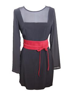 "NEW Plus Size VIKTOR SABO Obi RED Suede For Waistline Up To 65""/165 cm"