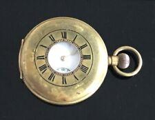 VINTAGE HALF HUNTER POCKET WATCH  c.1900 / montre gousset