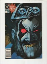 LOBO #1 DC COMICS (11/1990) FINE 6.0 NEWSSTAND VARIANT WHITE PAGES