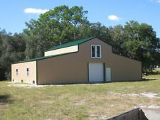 2 STORY AMERICAN BARN--ALL GALVANIZED STEEL INSULATED!! BUILDING - GARAGE-METAL
