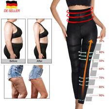 Damen Anti-Cellulite Schlank Leggings Mieder Taillenformer Bauchweg Miederhose