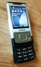 Retro Nokia Slide 6500 - Steel Silver (Three) Mobile Phone 6500s Fully Working