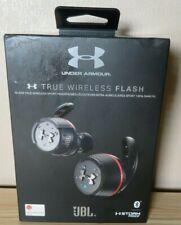 JBL Under Armour True Flash TWS In Ear Wireless SportHeadphones - Black