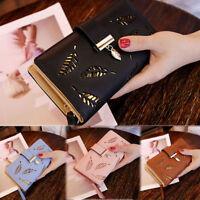 Women PU Leather Clutch Bifold Wallet Card Holder Purse Lady Long Handbag US
