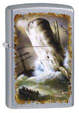 Zippo Lighter ● Mazzi Whale Wal Storm Ship ● 60003154 ● Neu New OVP ● A319