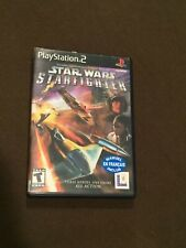 Sony PlayStation PS2 Video Game Star Wars StarFighter Rated T