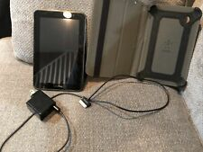 SAMSUNG Galaxy Tab 2 7.0 CE0168 8GB WiFi 7 Inch Black TABLET ANDROID with case