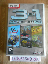 ELDORADODUJEU > 3 EN 1 COMPILATION MOTO GP 3 + MX VS ATV UNLEASHED+ JUICED PC VF