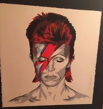 BOWIE MR BRAINWASH MBW LIMITED EDITION OF 169, SIGNED AND NUMBERED