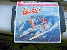 Barbie view-master in Full color around the world B500   reduced 2/22pm