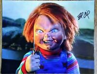 BRAD DOURIF AUTOGRAPHED CHUCKY CHILD'S PLAY 8X10 PHOTO