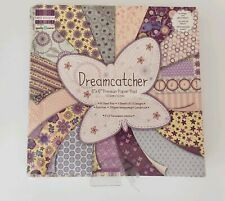 """PREMIUM PAPER PAD 6""""×6"""" 64 SHEETS CRAFTS CARDS HOBBY FLOWERS STARS BUTTERFLY NEW"""