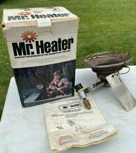 Mr. Heater MH12T 6,000-12,000 BTU Radiant Propane Heater / Cooker w box