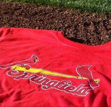 St Louis Springfield Cardinals red shirt Medium SGA new