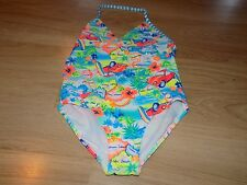 Size XS 4-5 OP Ocean Pacific One Piece Swimsuit Bathing Suit Tropical Beach New
