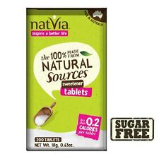 Natvia Sweetener Tablets (Pack of 200) NEW