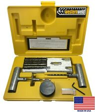 (66) Western Weld Heavy Duty Flat Tire Repair Tool Kit Plug Patch Car Truck USA