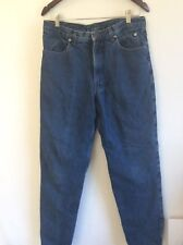 Harley Davidson Mens Jeans Size 32.5 Traditional Fit Lined