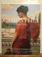 Christie's New York Catalog 19Th Century European Art November 1 1999