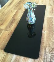 Black Acrylic Rectangle Table Runner / Protector in 3mm & 5mm thick options