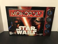 Star Wars Monopoly by Parker Brothers & Hasbro 100% Complete Disney 2015