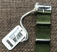 Briston Watch Strap - Cool Military Green - 50% OFF!