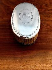 Tiffany & Co Sterling Silver Oval Clothes/Hair Brush: Script Monogram [2]