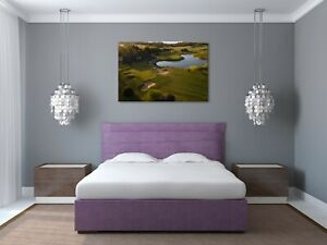 """CAMS HALL ESTATE GOLF COURSE - WALL ART - PICTURE - SIZE 36""""x24"""" - LARGE"""