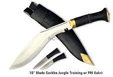"""10.5"""" Hand Forged Gurkha Jungle Kukri, GK&CO. amazing Blade-Nepal Khukuri Knife"""
