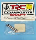"""Vintage TRC Composite Craft 5/32"""" King Pins For Magnesium Cross Bar (2) 5118 RC"""